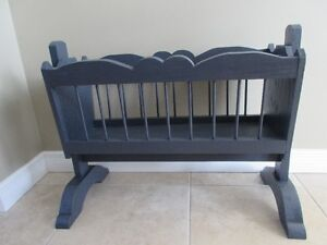 HAND MADE DOLL CRADLE