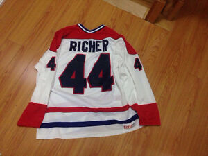Stephan richer Montreal Canadiens vintage NHL jersey hockey