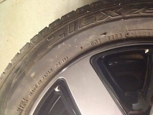 Almost new Falken195/60/14 summer tires and rims