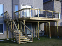 Fence and Deck Repairs Plus Custom New Construction