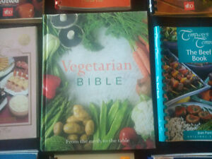 Vegetarian Bible & Company's Coming Cookbooks just $15 for all!