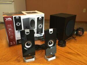 Cyber Accoustics powered Speaker set