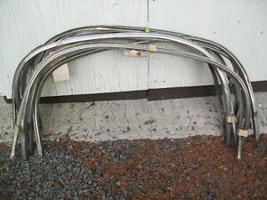 1968-69 Skylark front wheel well trims.