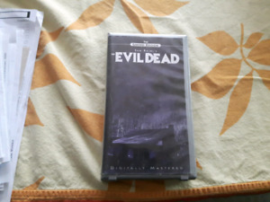 "Evil Dead ""The Limited Edition"" en VHS"