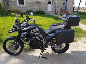 BEAUTIFUL 2012 BMW F800GS FOR SALE