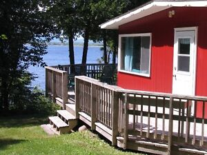 COTTAGE AT GREGORY'S POINT, Saint John River.  Weekly Rentals!