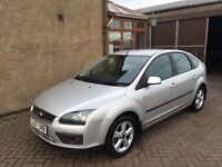 FORD FOCUS ZETEC CLIMATE (2007) ** 64000 MILES** , MOT MARCH 17, FULL SERVICE HISTORY, £1795