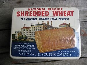 COLLECTABLE  SHREDDED  WHEAT  TIN