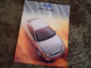 2001 Ford Cougar Brochure