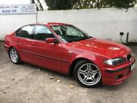 BMW 2003 320d Msport 2.0 Diesel Manual Saloon in Red