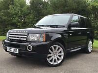 2007 Land Rover Range Rover Sport 3.6 TD V8 HSE Auto
