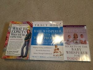 Three popular baby parenting books