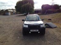 Land Rover Freelander hard top convertible