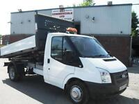 63 REG FORD TRANSIT TIPPER, 125PS, EURO 5, ALUMINIUM INGIMEX TIPPER, TAKE A L@@K