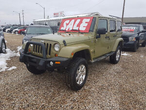2013 Jeep Wrangler $320.00 Bi Weekly GUARANTEED FINANCING