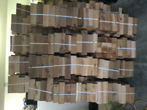Firewood bundles of16 pieces of 4x4s