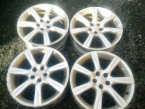 "17"" Subaru Alloy Rims"