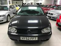 2002 Volkswagen Golf 1.9TDI PD ( 100bhp ) auto 2002MY SE - 12 Stamp - 2 Keepers