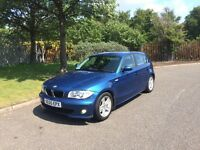 2005 BMW 1-Series 118D Sport 5door blue alloys 2keys service PX welcome