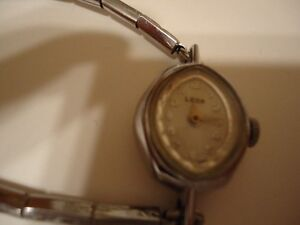 Vintage Woman's Leda Wind Up Dress Watch