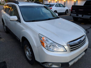 2012 Subaru Outback 2.5i Touring All-Weather Package Manual