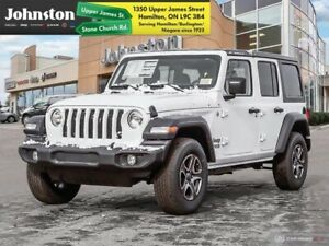 2019 Jeep Wrangler Unlimited Sport S  - Uconnect