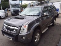 Isuzu redeo Denver Max 60ppate 69000 miles fsh 2.5 turbo diesel double cab no vat!!!