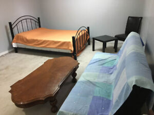 Furnished Basement Room for Rent in Bungalow