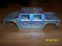 1/8 Scale Radio Controlled nitro Hummer body shell