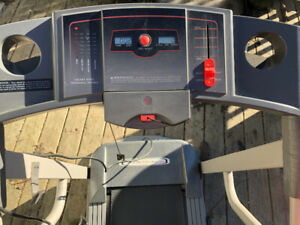 Cadence C32 Treadmill - space saver - folds to stand in corner.