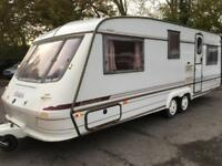 1997/98 ELDDIS CRUSADER SUPERSTORM 4 BERTH TWIN AXLE TOURING CARAVAN