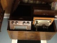 Victrolia am fm sw record player