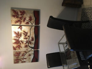 Large 3 piece painting