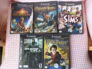 Gamecube games (also work on Wii)