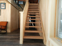 CUSTOM SHOP BUILT STAIRS..for your Muskoka Project