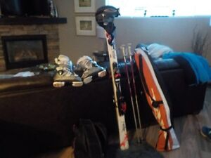 Complete Ski Package Women's - Excellent Condition