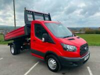 Ford Transit 2.0TDCI 170PS 350 TIPPER Euro 6 WOW JUST 6,000 MILES STUNNING!!