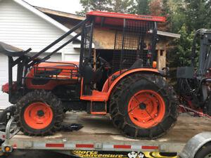 2015 Kioti Logging tractor