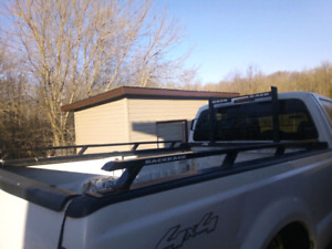 F250 F350 super duty back rack with rails