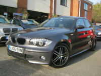 2006 06-Reg BMW 120i Sport,5 Dr,BLUETOOTH,ANGEL EYES,TWIN EXHAUSTS!!!