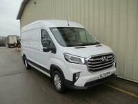 2020 MAXUS Deluxe Deliver 9 RWD LWB HR Panel Van - NEW - TO ORDER! Diesel white