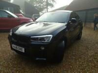 2018 BMW X4 2.0 20d M Sport Auto xDrive (s/s) 5dr SUV Diesel Automatic