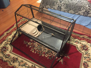 Rabbit or other small animal cage