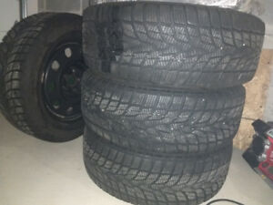 Winter tires. 225 55 r17 with Mopar steel rims