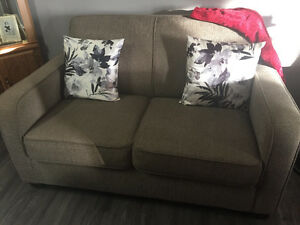 Loveseat & sofa