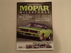 COLLECTOR'S EDITION MOPAR MILESTONES 2007 VGC