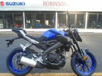 BRAND NEW Yamaha MT125 ABS in BLUE