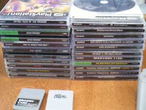 Playstation 1 & 2 video game collection