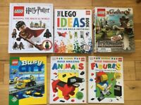 Lego ideas books x6
