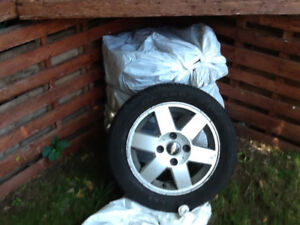 Summer tires for Chevrolet, including mags 15inch